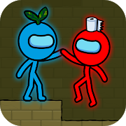 Red and Blue Stickman : Animation Parkour Мод Apk 1.1.8