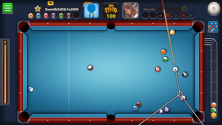 8 Ball Pool Mod Apk 4.5.1 [Long Lines]