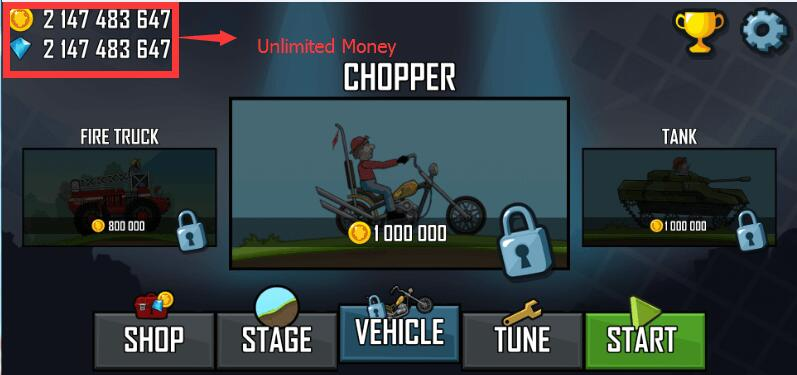 Hill Climb Racing Mod Apk 1.40.0 [Unlimited money]