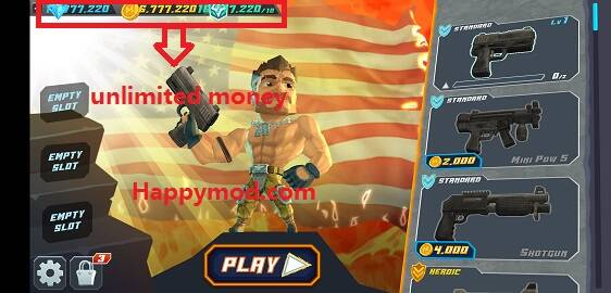 Major Mayhem 2 - Gun Shooting Action Mod Apk 1.160.2019042211 [Unlimited money]