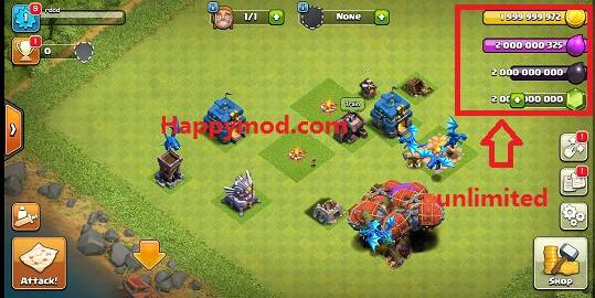 clash of clans hack mod version