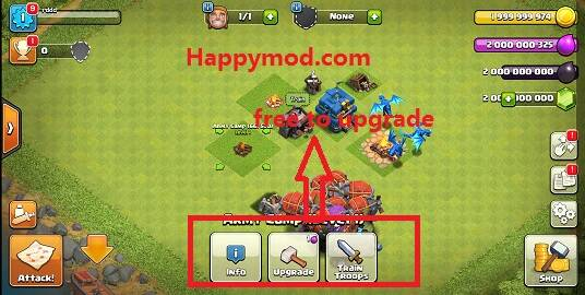 clash of clans mod apk for android 6.0