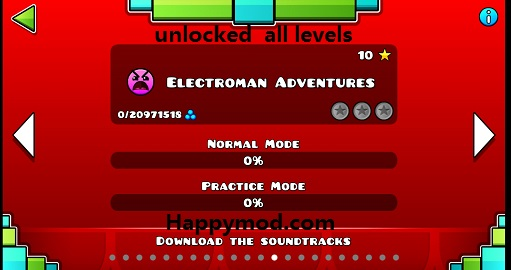 Geometry Dash Mod apk download - Robtop Games Geometry Dash