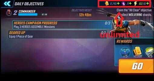 MARVEL Strike Force Mod Apk 3.0.1 [Increase energy]