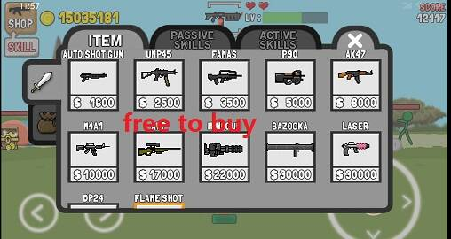 Stickman And Gun Mod Apk 2.1.6 [Unlimited money]