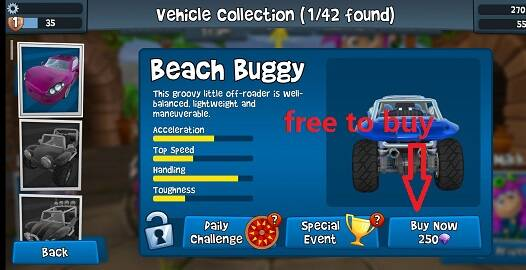 Beach Buggy Racing 2 Mod Apk 1.5.0 [Unlimited money]