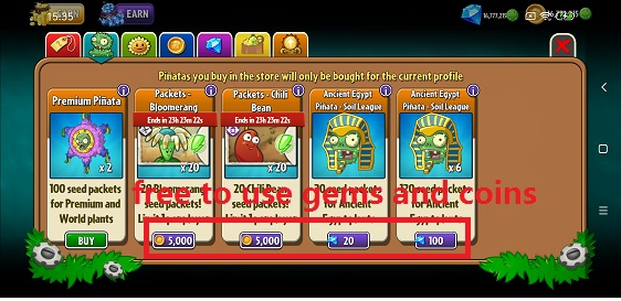 Plants vs Zombies™ 2 Free‏ Mod Apk 7.7.2 [المال غير محدود]