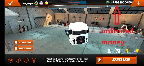 World Truck Driving Simulator Mod apk download - Dynamic