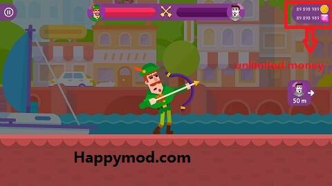 Bowmasters Mod Apk 2.12.7 [Unlimited money][Unlocked]
