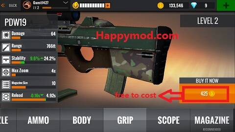 Sniper 3D Gun Shooter: Free Shooting Games - FPS Mod Apk 2.16.15 [Unlimited money