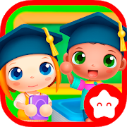 Sunny School Stories Mod apk download - Playtoddlers Sunny School