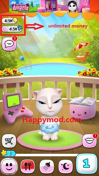My Talking Angela Mod apk download - Outfit7 Limited My
